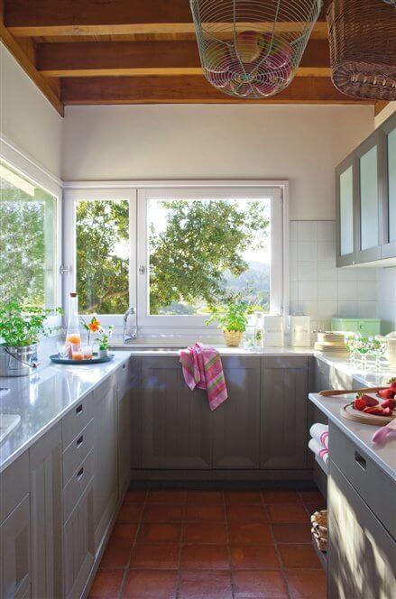 20 ideas para cocinas pequeñas · ElMueble.com · Cocinas y ...