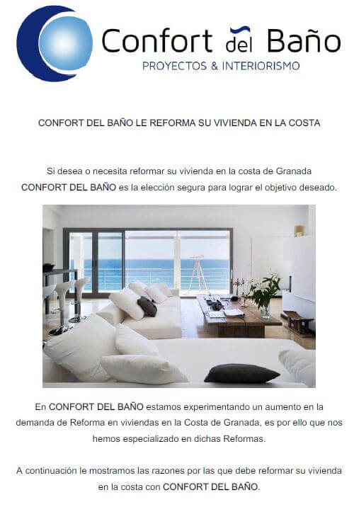 Confort del ba o le reforma su vivienda en la costa - Confort del bano ...